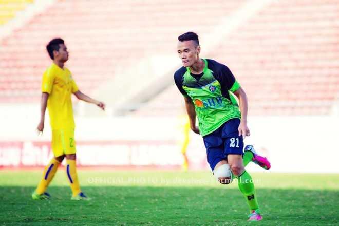 Xuân Nam vừa có một mùa giải rất thành công tại Laos League. (Ảnh: FBVN).