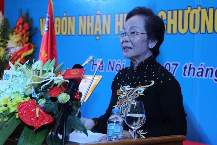 Phó Chủ tịch nước phát biểu tại lễ kỷ niệm.