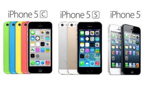 iPhone 5, 5C, 5S đọ dáng