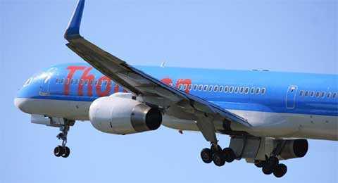 Máy bay của Thomson Airway