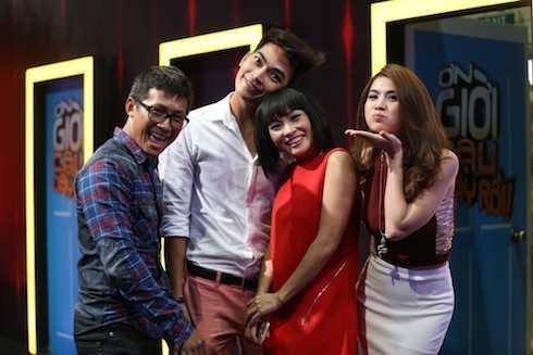 Các khách mời: Kha Ly, Phương Thanh, Thiên Vương và Khương Ngọc.