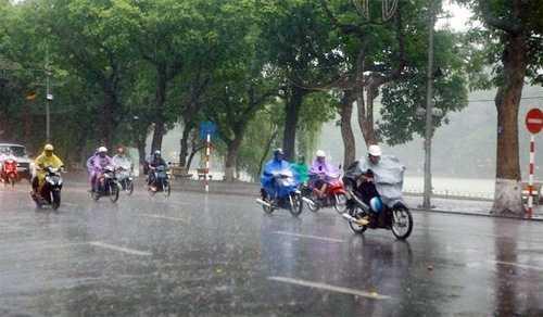 Mưa rào và dông xuất hiện hầu khắp các địa phương trên cả nước ngày 8/11 - Ảnh minh họa