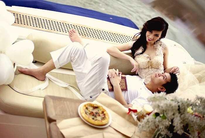 Quỳnh Chi có cuộc hôn nhân cay đắng.