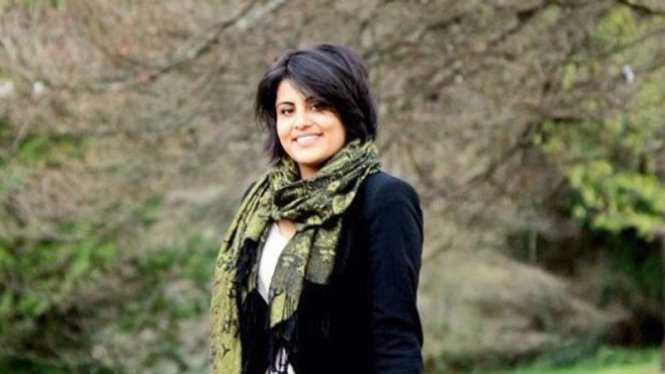 Bà Loujain al-Hathloul, một trong những nữ ứng cử viên vừa được công bố danh sách tranh cử chính thức tại Saudi Arabia