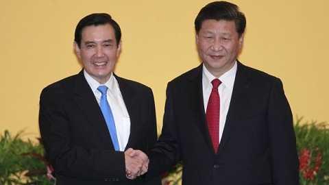 Lãnh đạo Đài Loan Mã Anh Cửu và Chủ tịch Tập Cận Bình tại Singapore