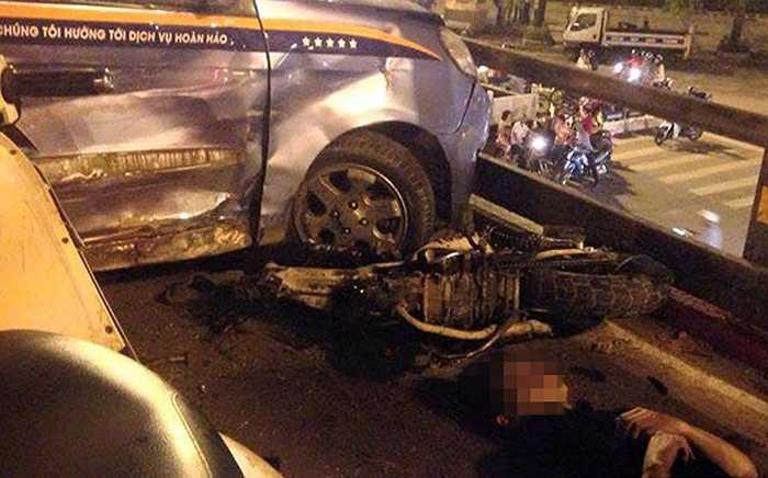 Vụ tai nạn khiến nhiều người bị thương...