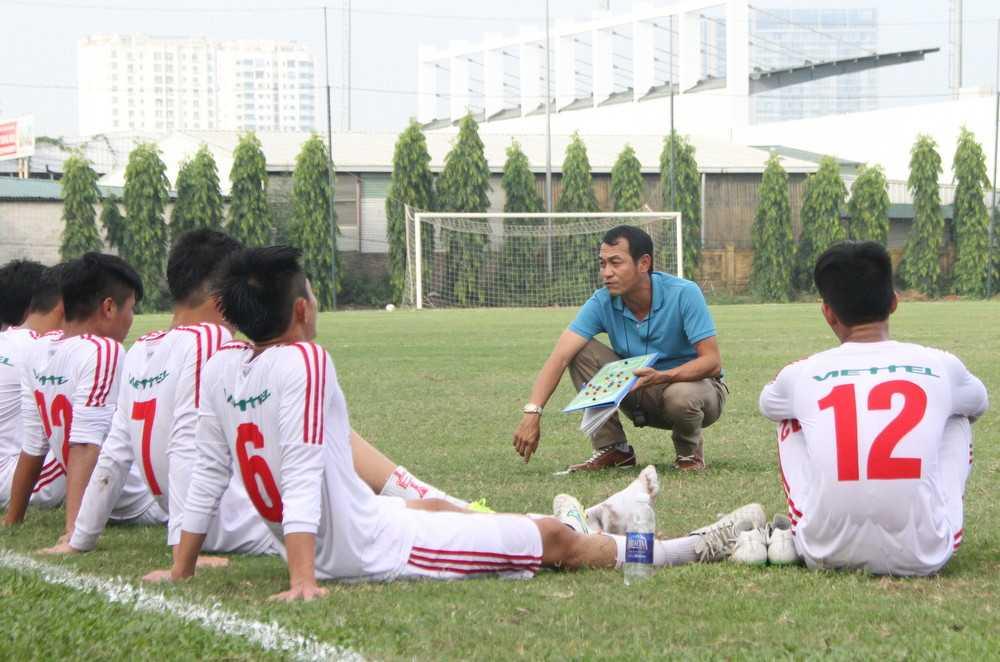 U19 Viettel có chiến thắng dễ dàng trước đội bóng Nhật Bản. (Ảnh: Vân Hà)