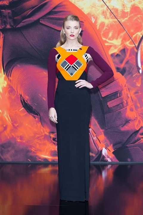 Natalie Dormer gây ấn tượng mạnh tại buổi công chiếuThe Hunger Games: Mockingjay