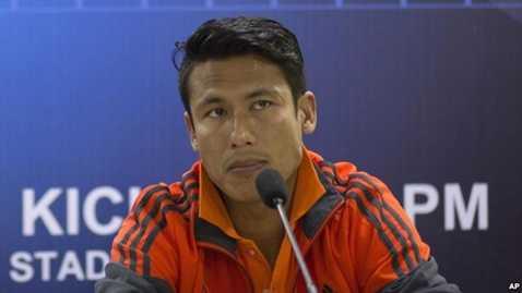 Sagar Thapa, đội trưởng của đội tuyển Nepal
