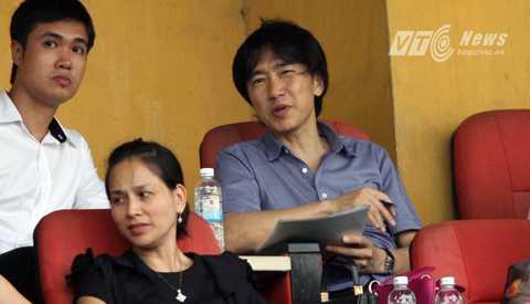 HLV Miura sẽ dự khán các trận đấu ở giải U21 Quốc tế 2015 (Ảnh: Quang Minh)