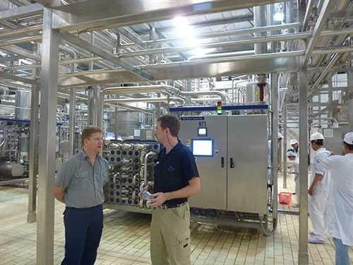 Nhà máy sữa hiện đại tại Bình Dương của Vinamilk