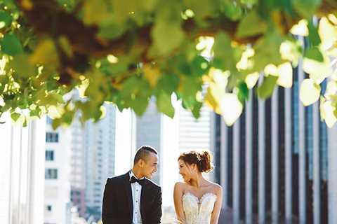 Sau ba năm hẹn hò, tình yêu của Lương Thế Thành và Thúy Diễm đã đơm hoa kết trái.