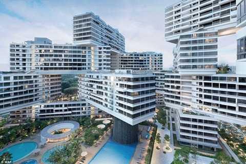 Kiểu thiết kế này mang tới khu dân cư sự rộng rãi, thoải mái