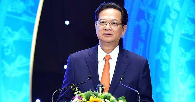 Thủ tướng Chính phủ Nguyễn Tấn Dũng phát biểu tại Lễ hưởng ứng Ngày Pháp luật năm 2015