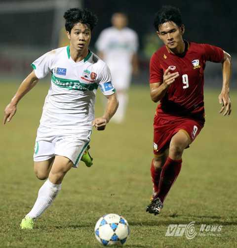 U21 Thái Lan mà Công Phượng từng đánh bại ở giải U21 Quốc tế 2014 chỉ là đội bóng xoàng xĩnh (Ảnh: Quang Minh)
