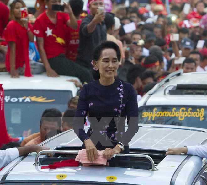 Thủ lĩnh Đảng NLD, bà Aung San Suu Kyi