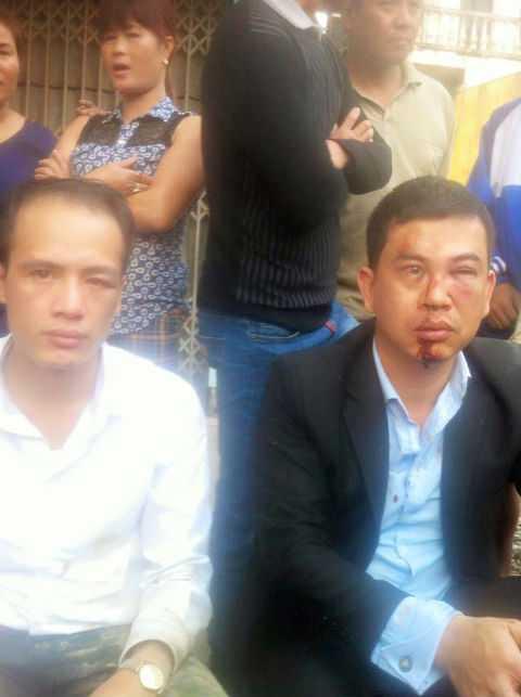 Hai luật sư bị hành hung trong vụ việc