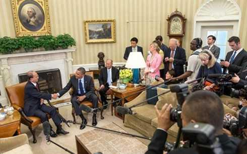 Tổng thống Myanmar Thein Sein hội kiến với Tổng thống Mỹ Obama
