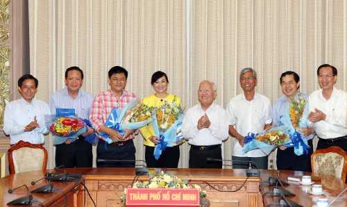 Nhiều nhân sự mới vừa được Chủ tịch UBND TP HCM Lê Hoàng Quân bổ nhiệm ngày 13/11. Ảnh: A.V