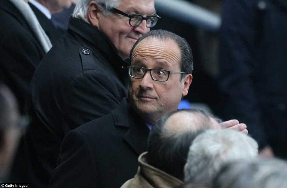 Tổng thống Pháp đến xem trận giao hữu Pháp-Đức