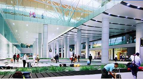 Mô hình nhà ga hành khách quốc tế Sân bay Đà Nẵng