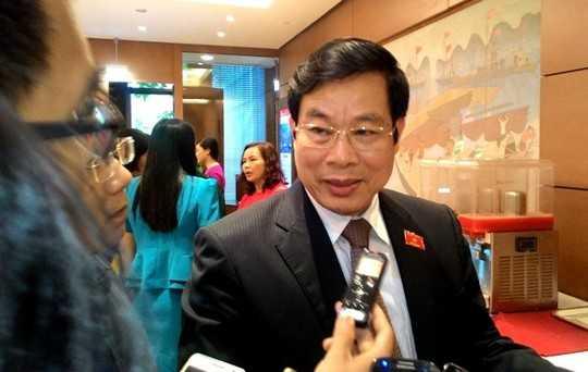 Bộ trưởng Bộ Thông tin và Truyền thông Nguyễn Bắc Son. Ảnh: Người lao động