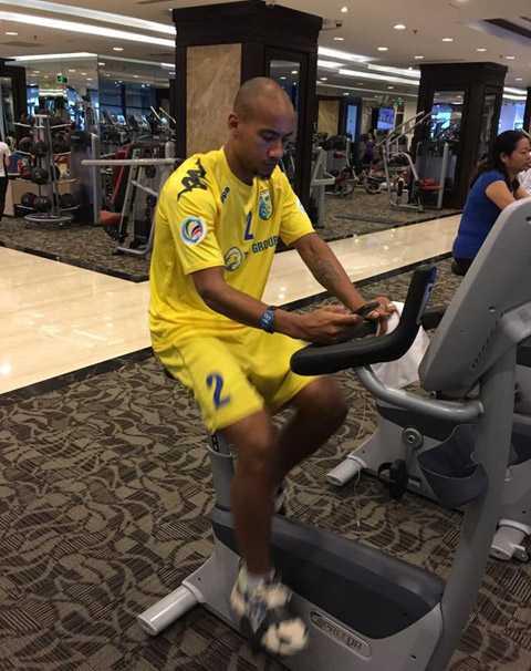 Cựu tiền đạo PSG tập luyện tích cực nhằm có thể lực tốt cho giải giao hữu ở Trung Quốc.