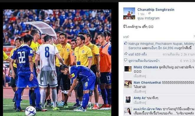Messi Thái Lan chơi xấu đối thủ