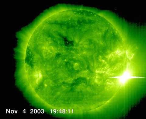 Lửa mặt trời được cho là nguyên nhân chính dẫn đến sự thay đổi này