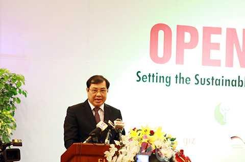 Với vai trò địa phương đăng cai, Chủ tịch UBND TP Đà Nẵng Huỳnh Đức Thơ cam kết tạo điều kiện tốt nhất để Đại hội diễn ra thành công