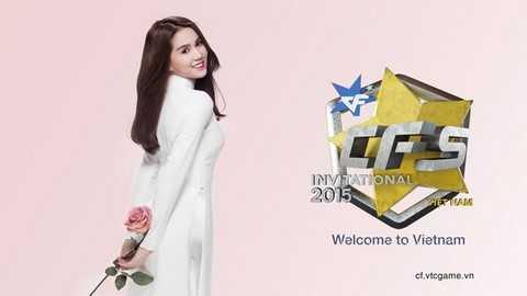 Lời chào mừng của Ngọc Trinh tới bạn bè quốc tế ghé thăm Việt Nam tham dự Giải thể thao điện tử Châu Á Đột Kích 2015