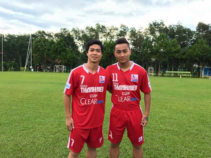 Công Phượng, Tuấn Tài quảng bá cho cúp U21 Quốc tế Báo Thanh Niên