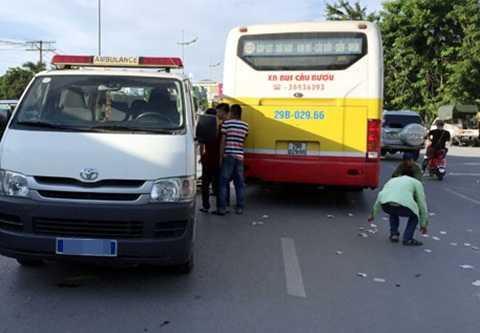 Hiện trường vụ tai nạn nghiêm trọng trên đường Lê Duẩn