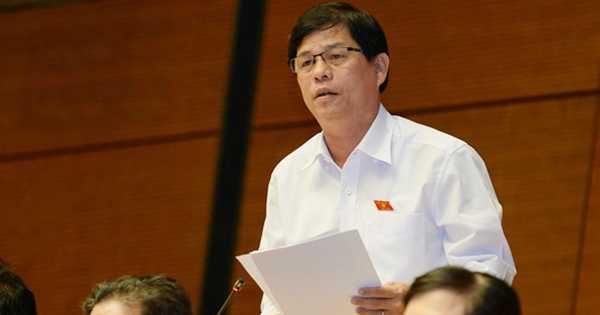 Đại biểu Nguyễn Tấn Tuân