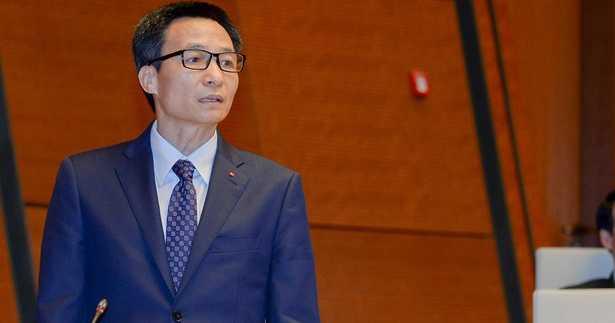 Phó Thủ tướng Vũ Đức Đam trả lời chất vấn của đại biểu chiều 17/11 (Ảnh: VPQH)