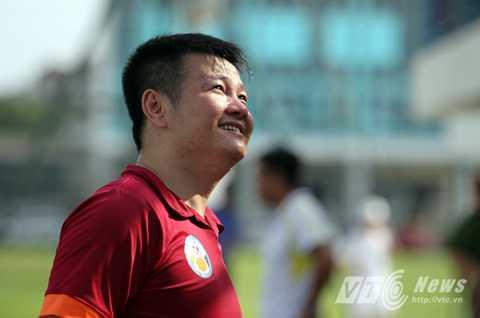 Trong sự nghiệp của mình Văn Quyến chưa một lần đầu quân cho đội bóng nước ngoài. (Ảnh: Hà Thành)