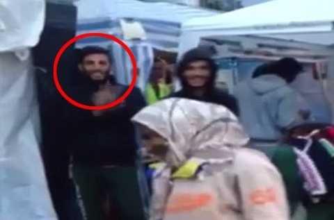 Tên Ahmad Almohammad từng xuất hiện trong trại tỵ nạn ở Serbia