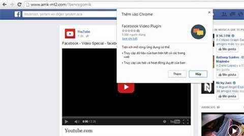 Trang web có giao diện giống Facebook yêu cầu người dùng cài thêm plug-in, nhưng địa chỉ tên miền không phải Facebook.com.
