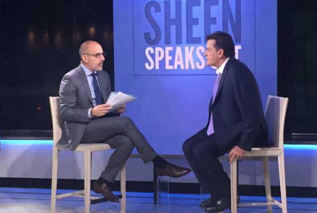 """Charlie Sheen đã chi 10 triệu USD để giữ kín chuyện nhiễm HIV. """"Từ hôm nay, tôi giải phóng bản thân khỏi nhà tù của chính mình""""."""