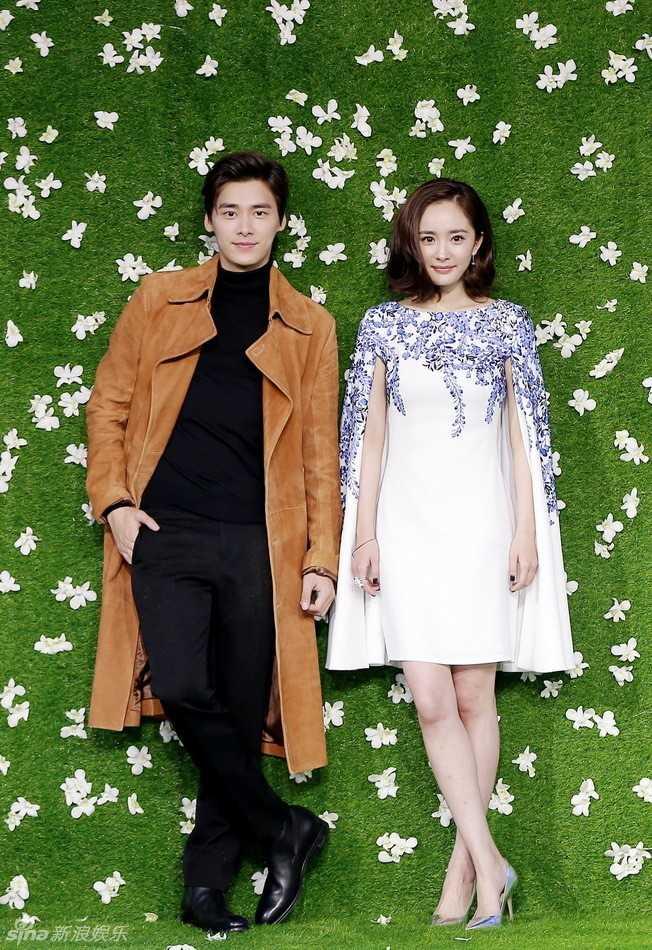 Dương Mịch và Lý Dịch Phong được cho đã vụng trộm trên phim trường.