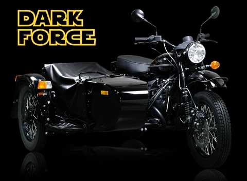 Phiên bản đặc biệt Ural Dark Force chỉ có đúng 25 chiếc với mức giá 15.000 USD