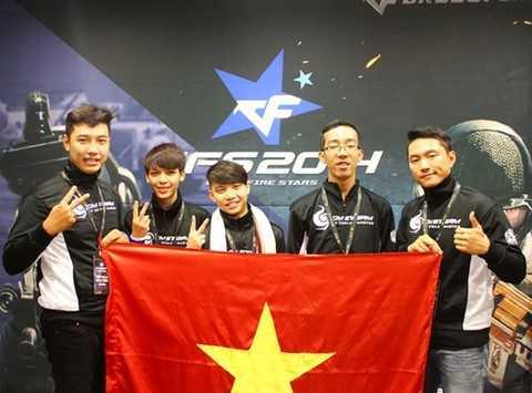 CyberCore giương cao quốc kỳ Việt Nam trên đấu trường thế giới