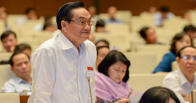 Đại biểu Trần Du Lịch phát biểu về luật đấu giá tài sản
