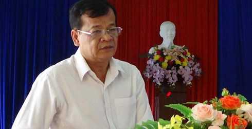 Ông Phạm Văn Tân. Ảnh: Thanhpho.Tayninh.gov.vn