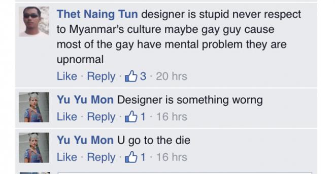 Người dân Myanmar bức xúc vì sự nhầm lẫm của nhà thiết kế áo dài Việt.