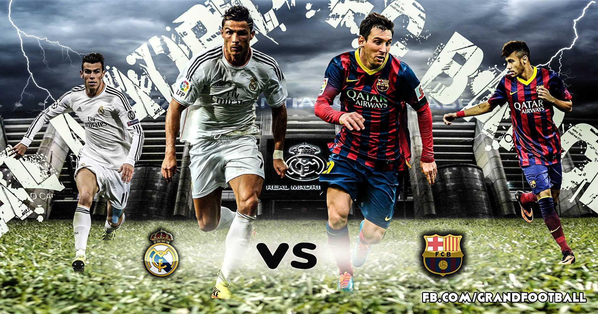 Ronaldo vs Messi: Ai chiến thắng ở Siêu kinh điển Real vs Barca?