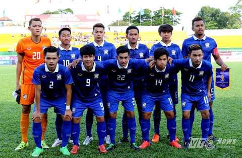 U21 Thái Lan là đội bóng còn non kinh nghiệp so với U21 Việt Nam (Ảnh: Quang Minh)