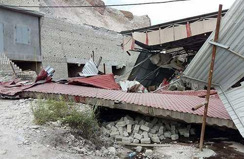 Hiện trường vụ sập lò vôi khiến 3 người chết thảm