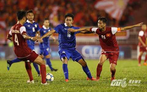 U21 Thái Lan thực tế chỉ là đội bóng học sinh (Ảnh: Quang Minh)