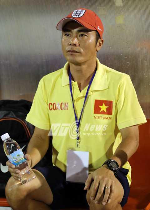 HLV trưởng U21 Việt Nam, Phạm Minh Đức (Ảnh: Quang Minh)